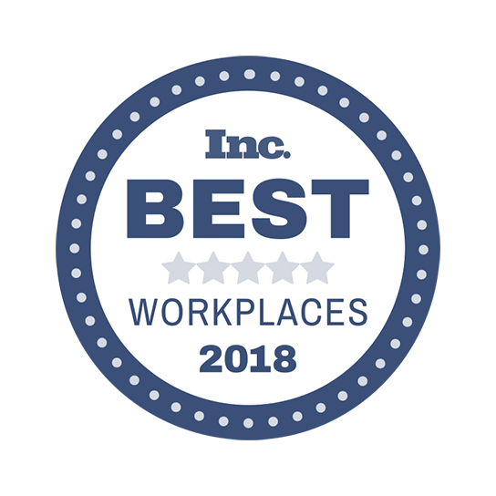 Inc. best workplaces award